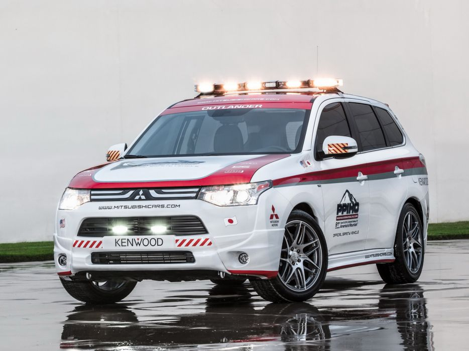 2013 Mitsubishi Outlander G-T Pikes Peak Safety suv race racing wallpaper
