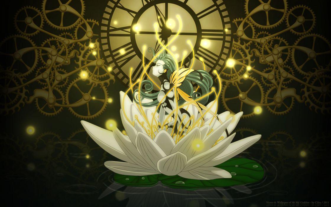 Aah! Megami-sama fantasy fairy wallpaper