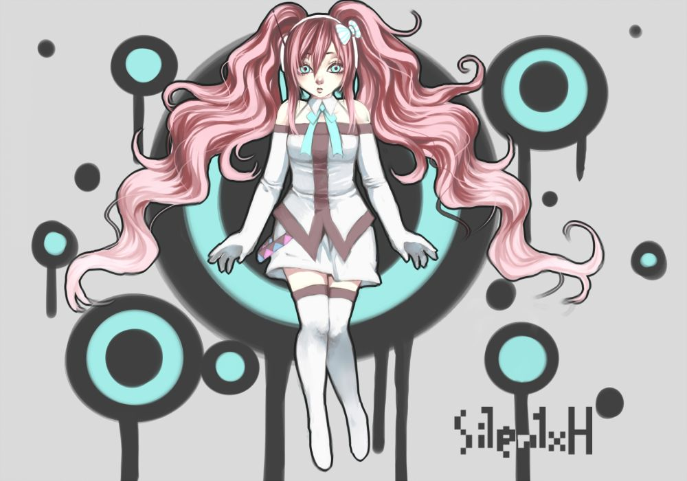 Vocaloid Megurine Luka      fd wallpaper