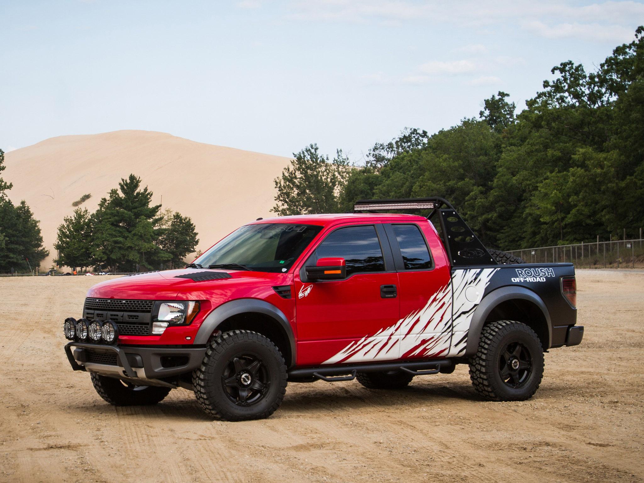 2012 roush ford f 150 svt raptor 4x4 muscle truck h. Black Bedroom Furniture Sets. Home Design Ideas