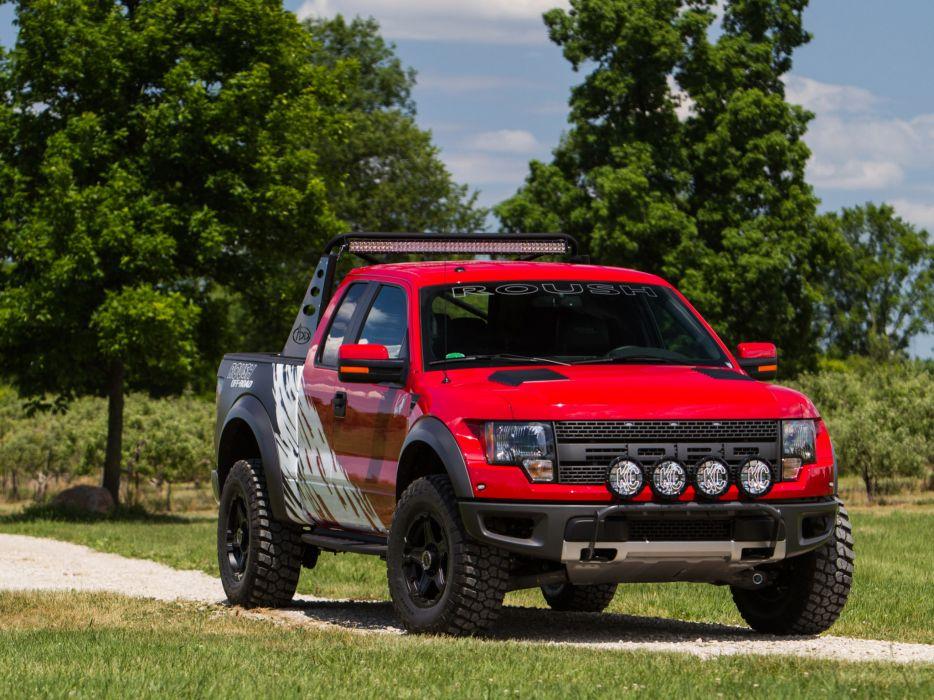 2012 Roush Ford F-150 SVT Raptor 4x4 muscle truck  t wallpaper
