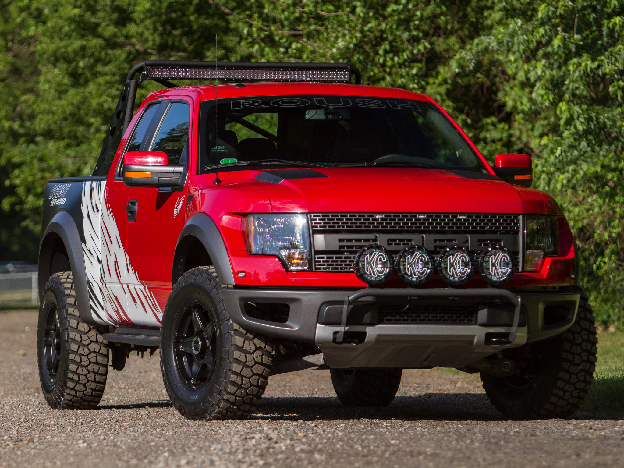 2012 roush ford f 150 svt raptor 4x4 muscle truck g wallpaper 2048x1536 110498 wallpaperup. Black Bedroom Furniture Sets. Home Design Ideas