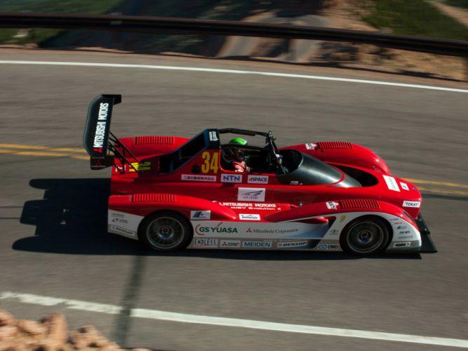 2013 Mitsubishi MiEV Evolution II Electric Pikes Peak race racing h wallpaper