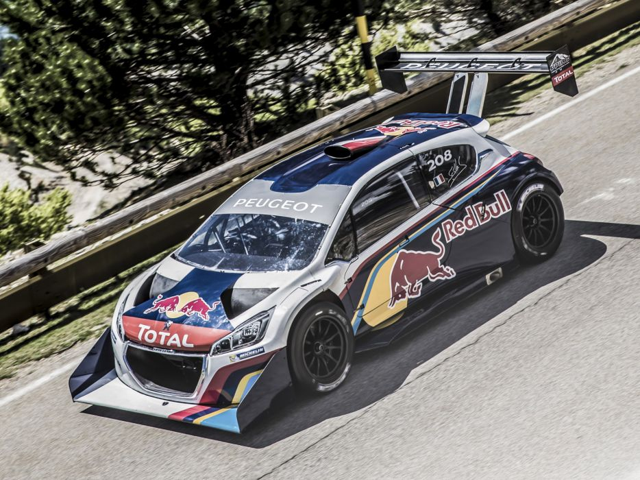 2013 Peugeot 208 T16 Pikes Peak Race Racing G Wallpaper