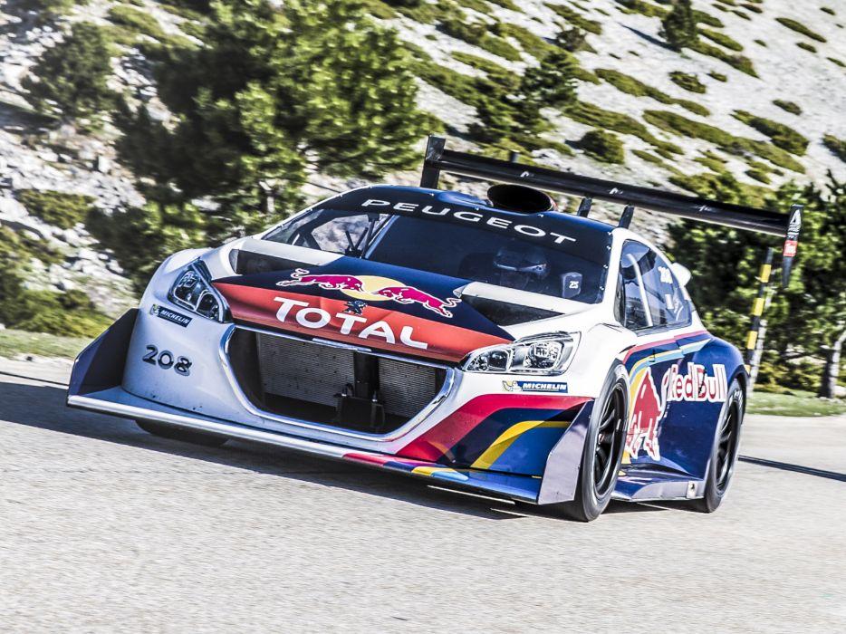 2013 Peugeot 208 T16 Pikes Peak race racing       g wallpaper