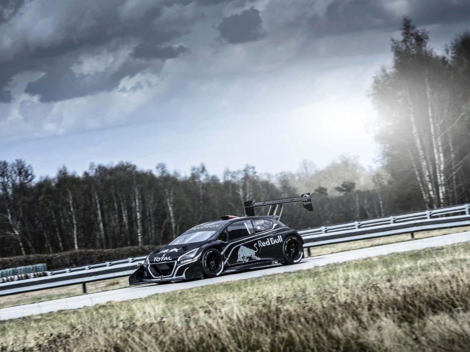 2013 Peugeot 208 T16 Pikes Peak race racing  j wallpaper