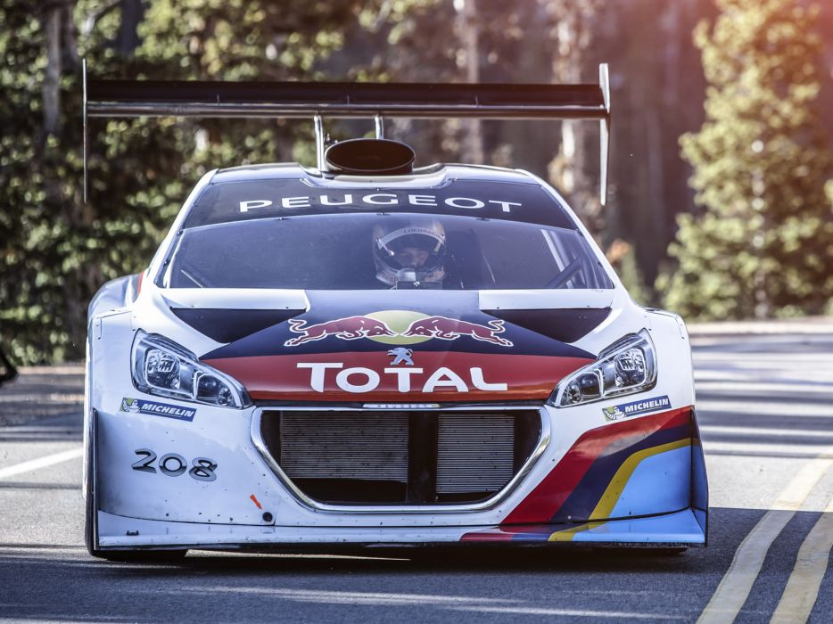 2013 Peugeot 208 T16 Pikes Peak race racing hh wallpaper