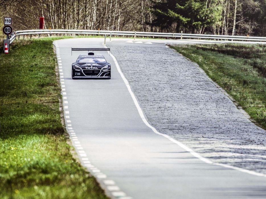 2013 Peugeot 208 T16 Pikes Peak race racing t wallpaper