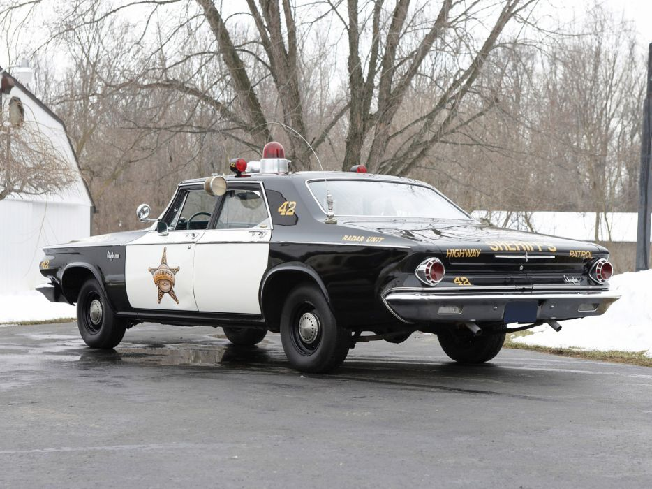 1963 Chrysler Newport Police Cruiser classic muscle   f wallpaper