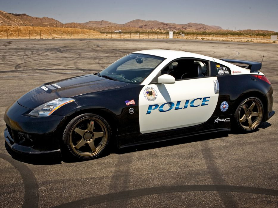 2004 Nismo Nissan 350Z Police 33Z tuning wallpaper