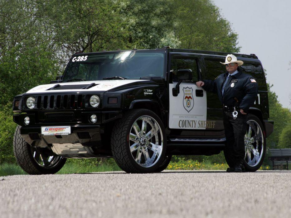 2006 Geiger Hummer H2 Police tuning 4x4 suv truck wallpaper