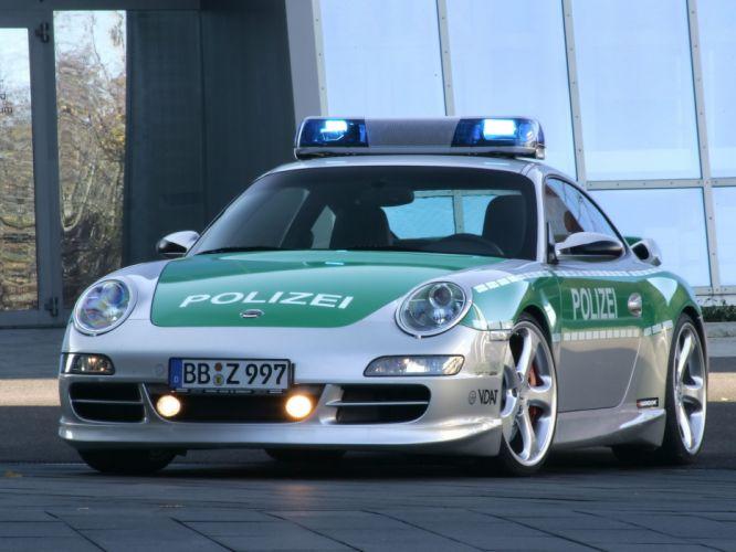 2006 Porsche 911 Carrera S Police tuning supercar supercars wallpaper