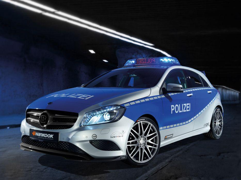 2012 Brabus Mercedes Benz A-Klasse B25 Police tuning wallpaper
