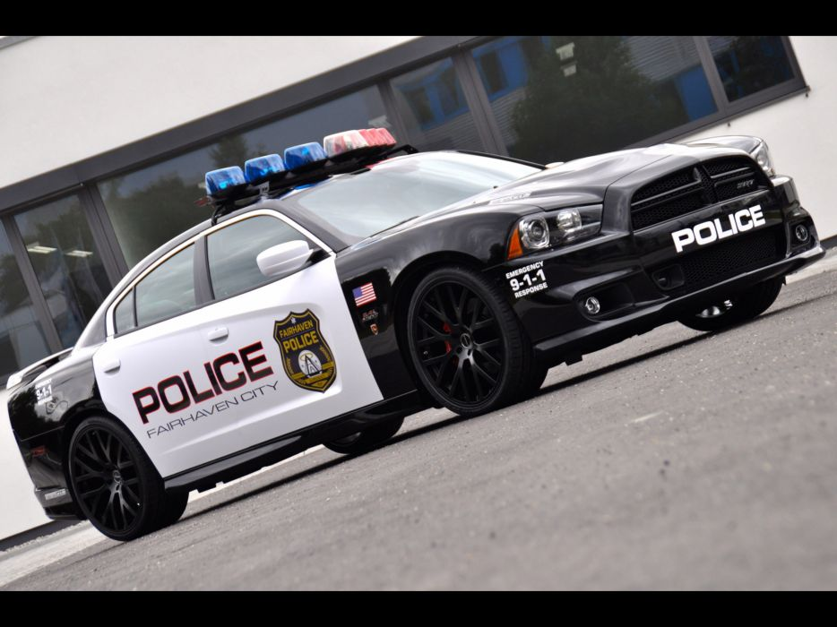 2013 Geiger Dodge Charger SRT8 Police muscle  f wallpaper