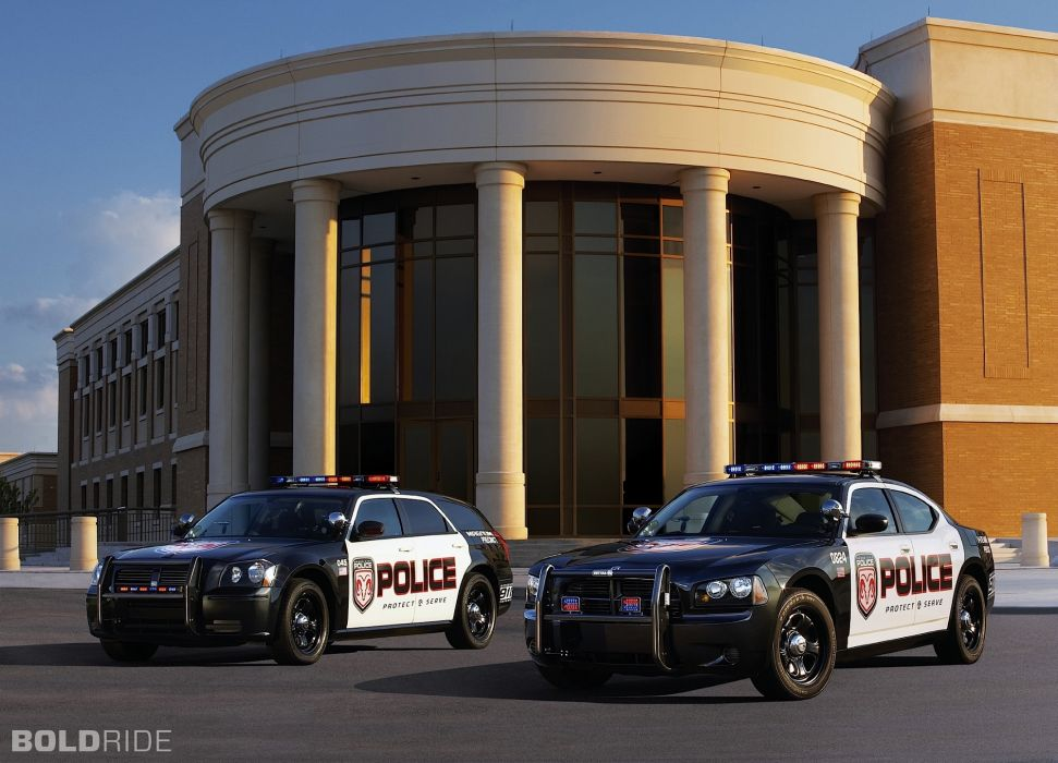 2006 Dodge Magnum Police stationwagon muscle charger       h wallpaper