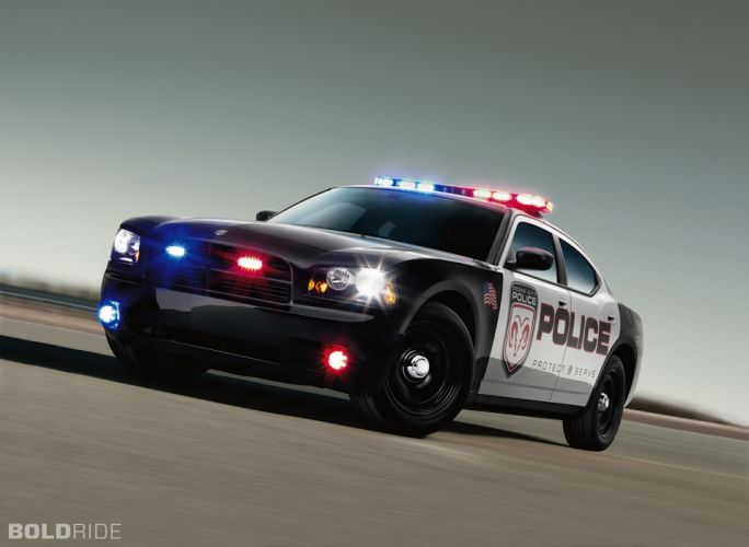 2009 Dodge Charger Police muscle wallpaper
