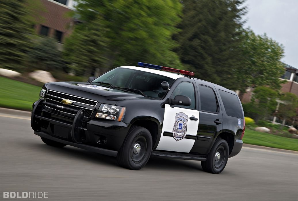 2011 Chevrolet Tahoe Police suv 4x4     h wallpaper