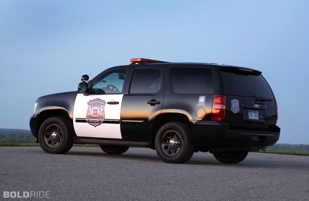 2011 Chevrolet Tahoe Police suv 4x4   g wallpaper