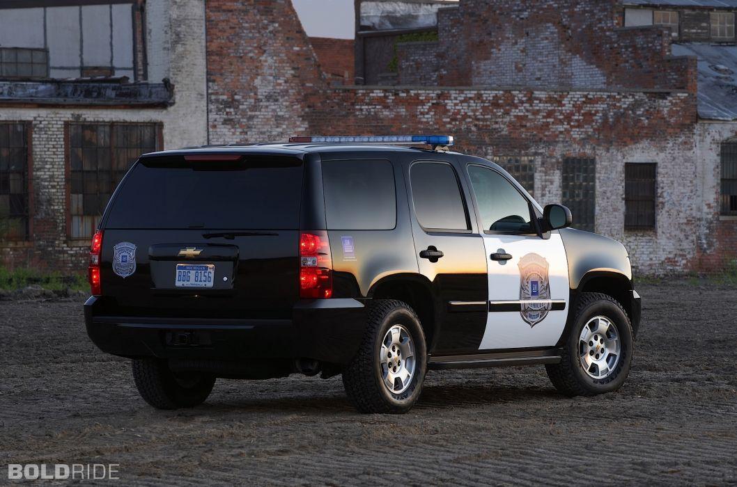 2011 Chevrolet Tahoe Police suv 4x4 h wallpaper