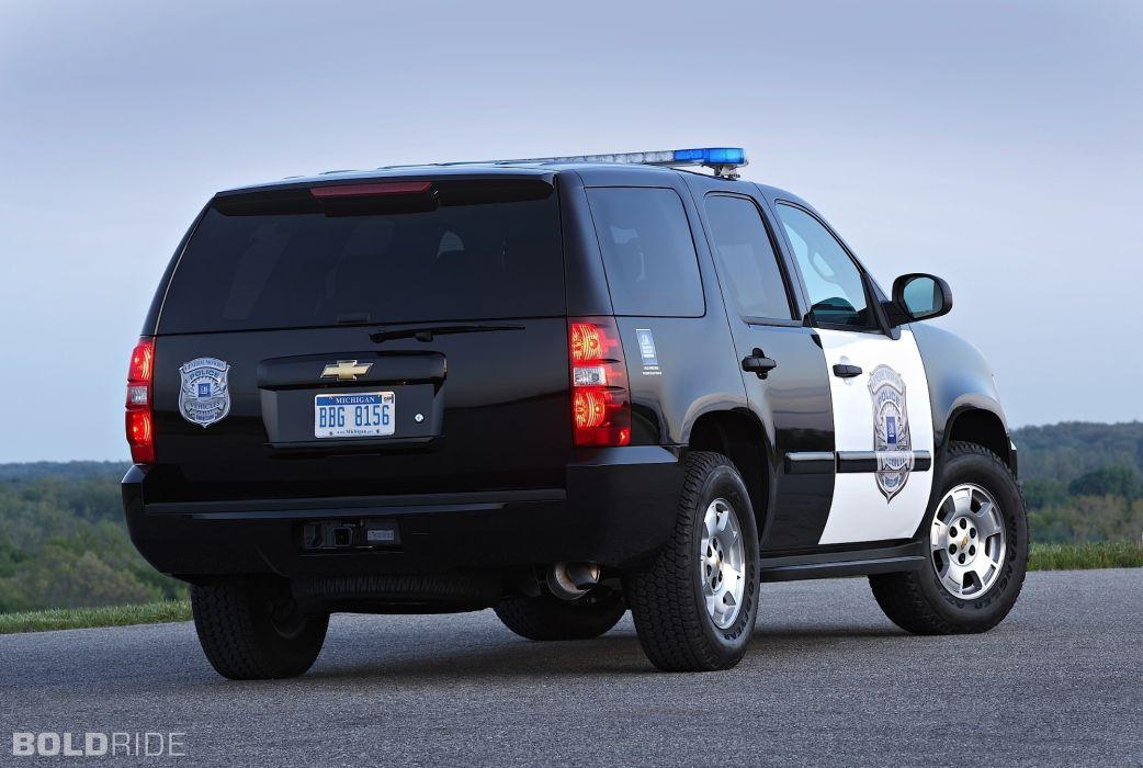 2011 Chevrolet Tahoe Police suv 4x4 wallpaper