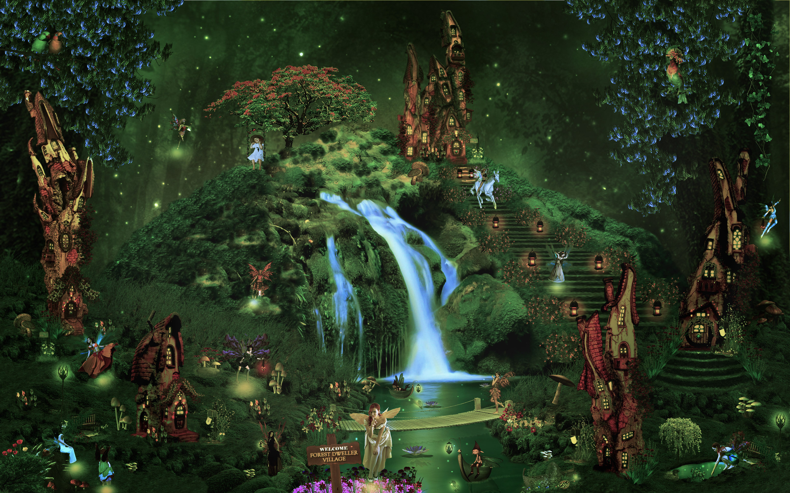 forest fairy wallpaper - photo #39