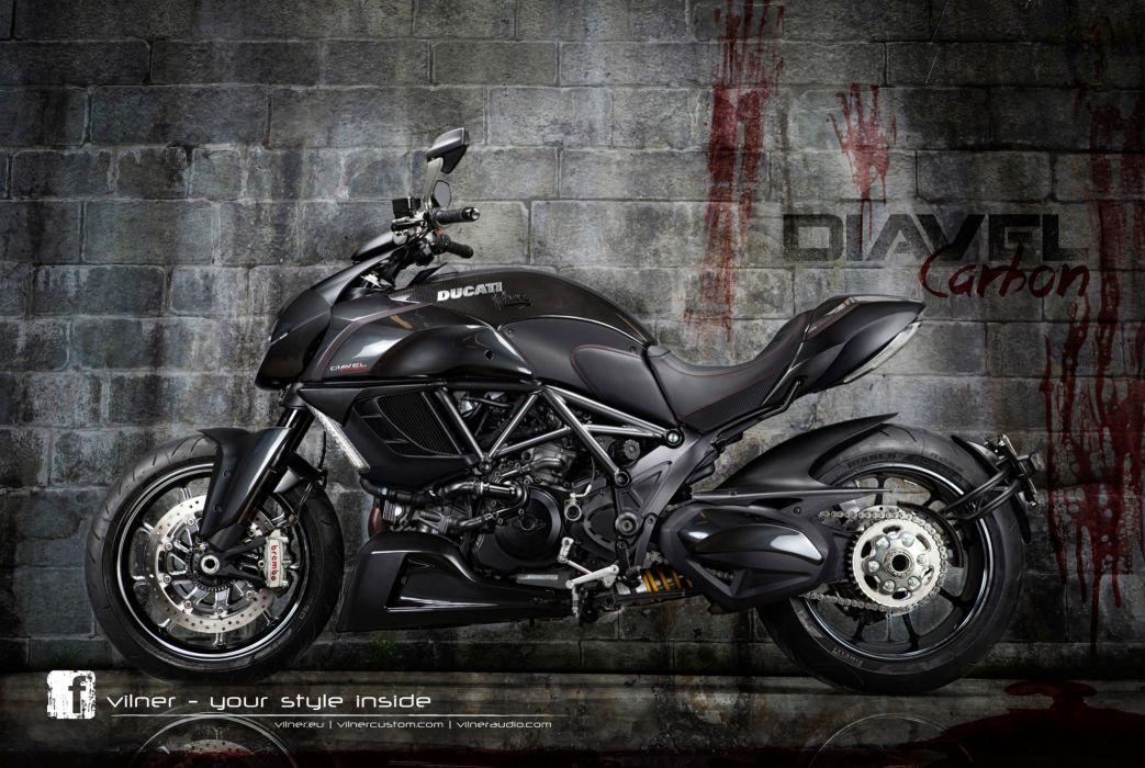 2013 Vilner Ducati Diavel superbike superbikes bike h wallpaper