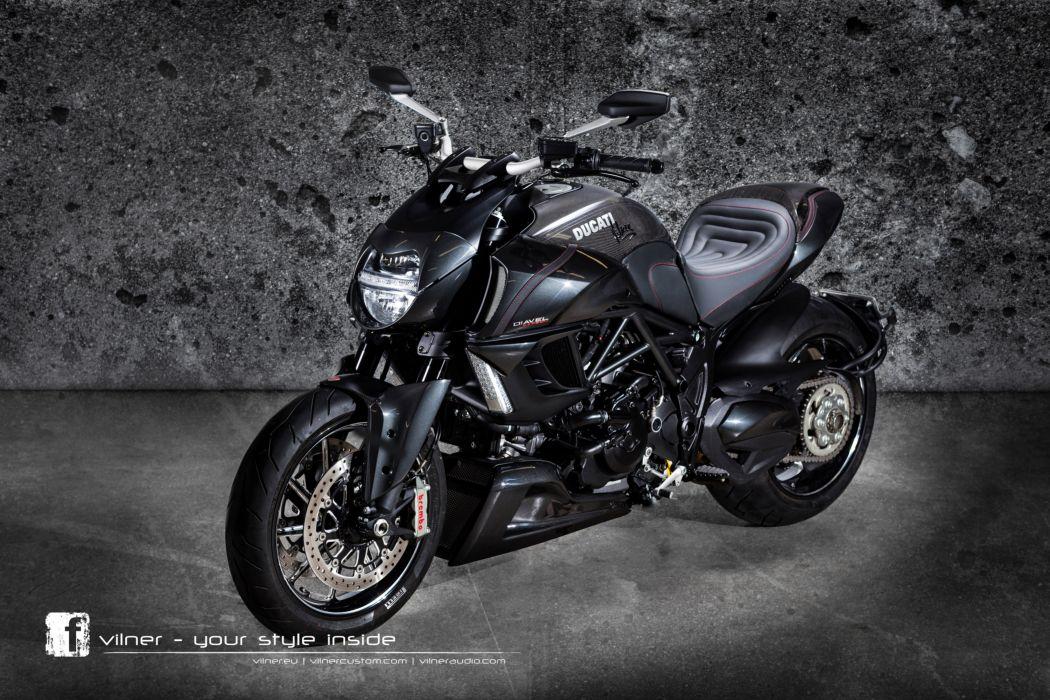 2013 Vilner Ducati Diavel superbike superbikes bike wallpaper