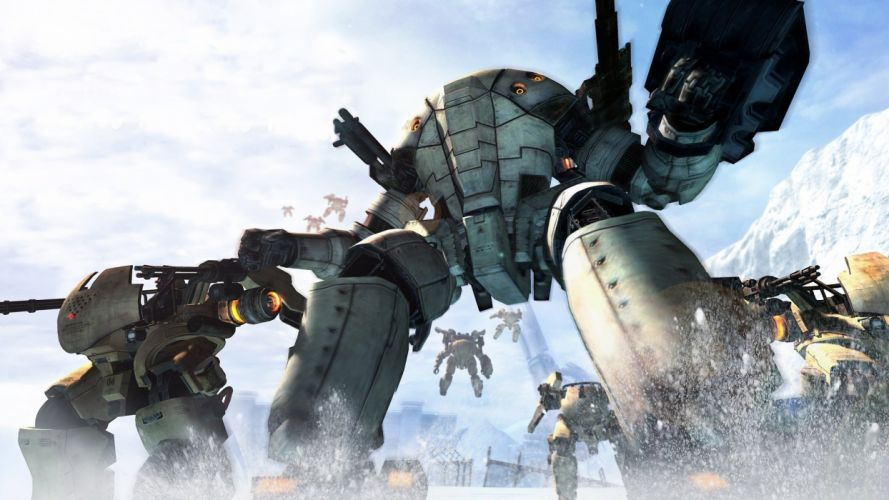 Lost Planet Capcom mecha mech robot robots sci-fi wallpaper