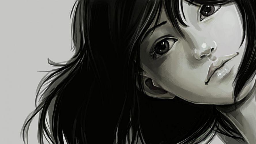 original girl girls face wallpaper