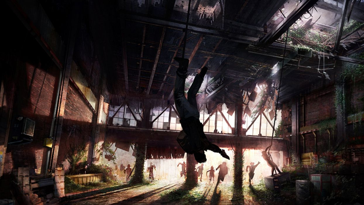 The Last of Us Zombies dark horror zombie wallpaper