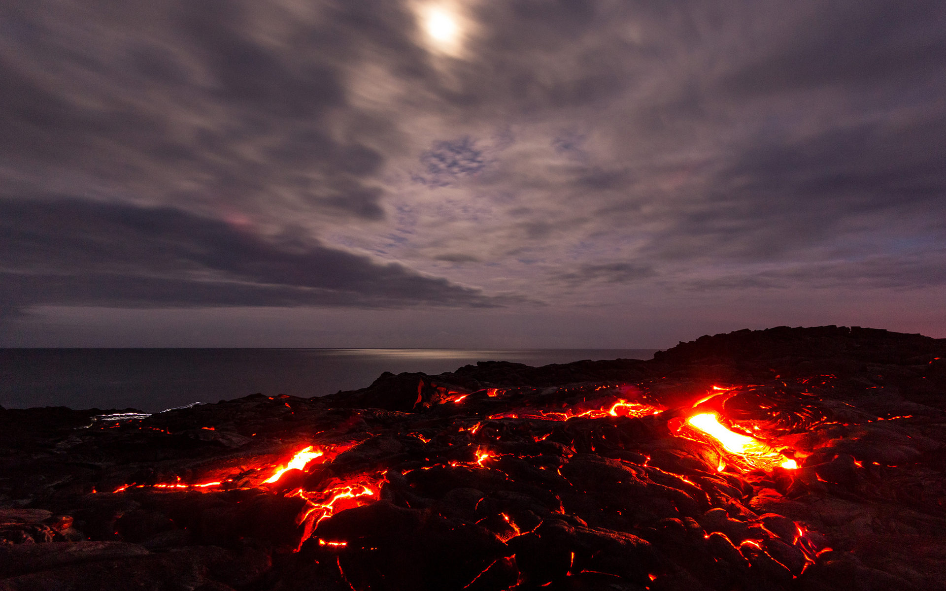 Solidified Lava Fire Texture Of Eruption Volcano Stock Photo ...