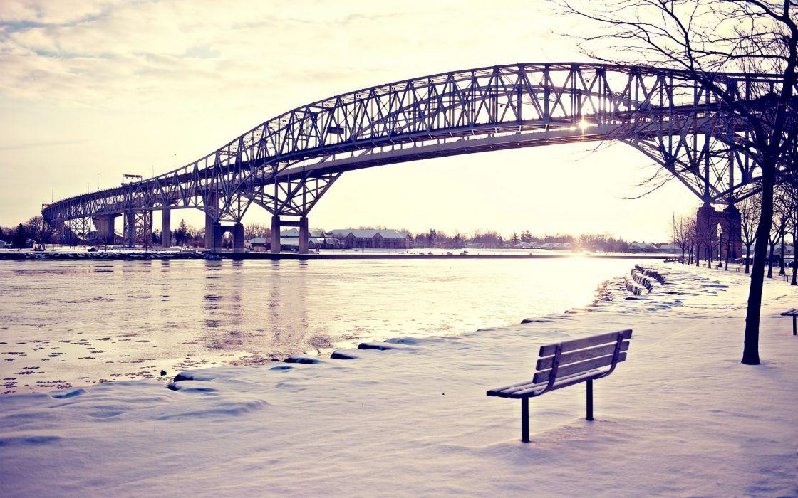 bridges_bench wallpaper