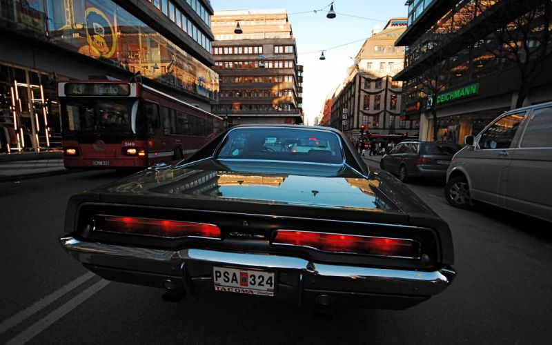muscle car dodge charger wallpaper