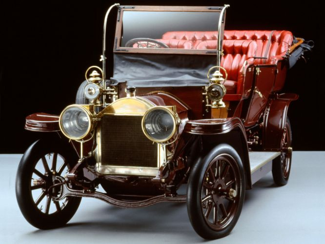 1902 Fiat Parsifal retro old antique wallpaper