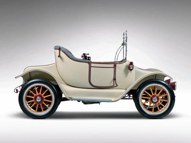 1914 Detroit Electric Model-46 Cape-Top Roadster retro old f wallpaper