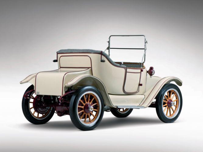 1914 Detroit Electric Model-46 Cape-Top Roadster retro old g wallpaper