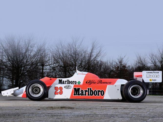 1981 Alfa Romeo V12 179C formula one f-1 race racing classic d wallpaper