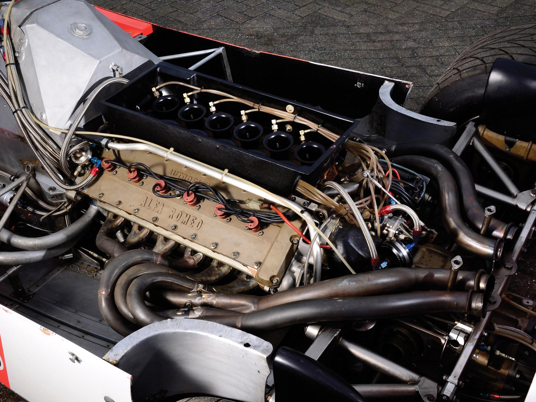 1981 Alfa Romeo V12 179C formula one f-1 race racing classic engine engines d wallpaper ...