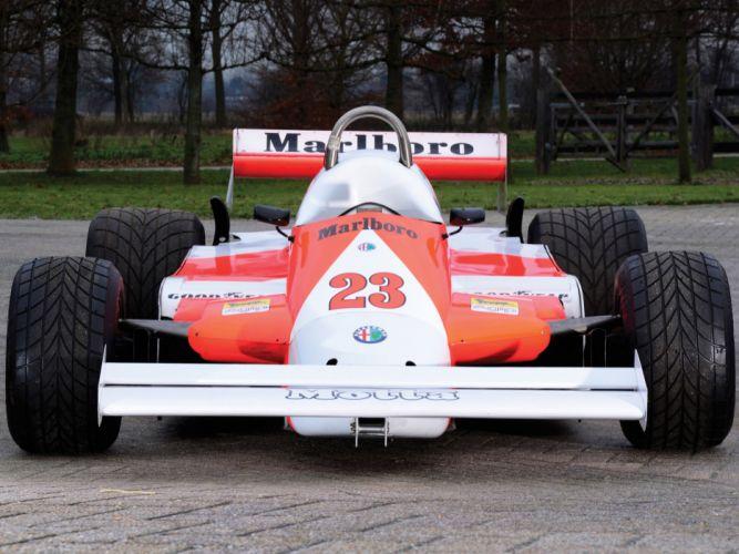 1981 Alfa Romeo V12 179C formula one f-1 race racing classic wheel wheels d wallpaper
