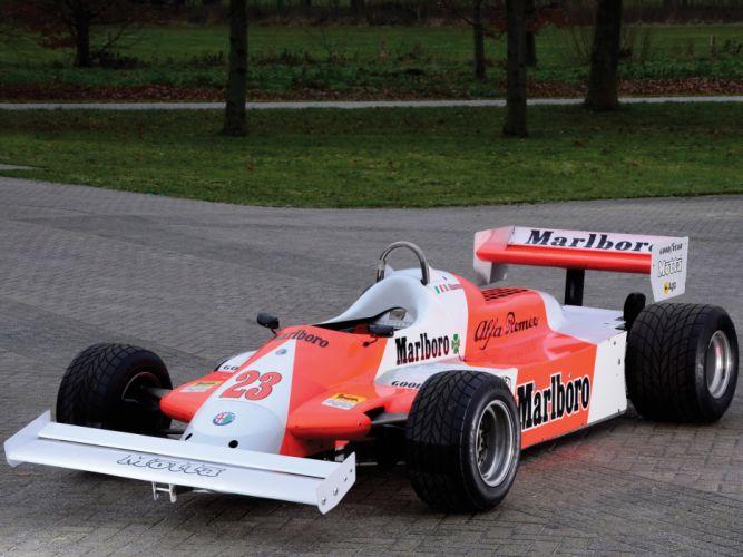1981 Alfa Romeo V12 179C formula one f-1 race racing classic wallpaper