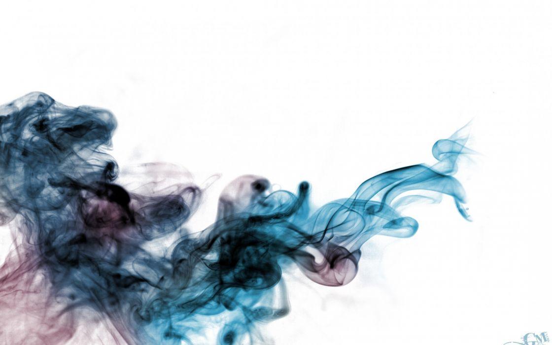 colored smokes artwork wallpaper