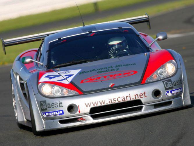 2007 Ascari KZ1 R GT3 supercar supercars race racing wallpaper