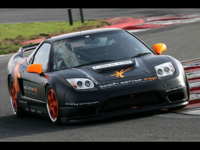 2009 Honda NSX supercar supercars tuning race racing wallpaper