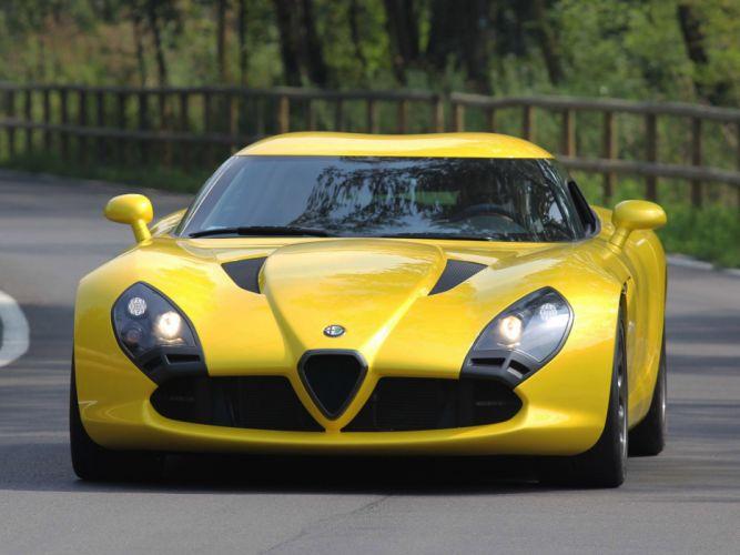 2011 Alfa Romeo TZ3 Zagato Stradale supercar supercars d wallpaper