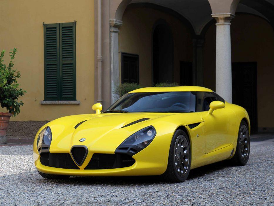 2011 Alfa Romeo TZ3 Zagato Stradale supercar supercars    ds wallpaper