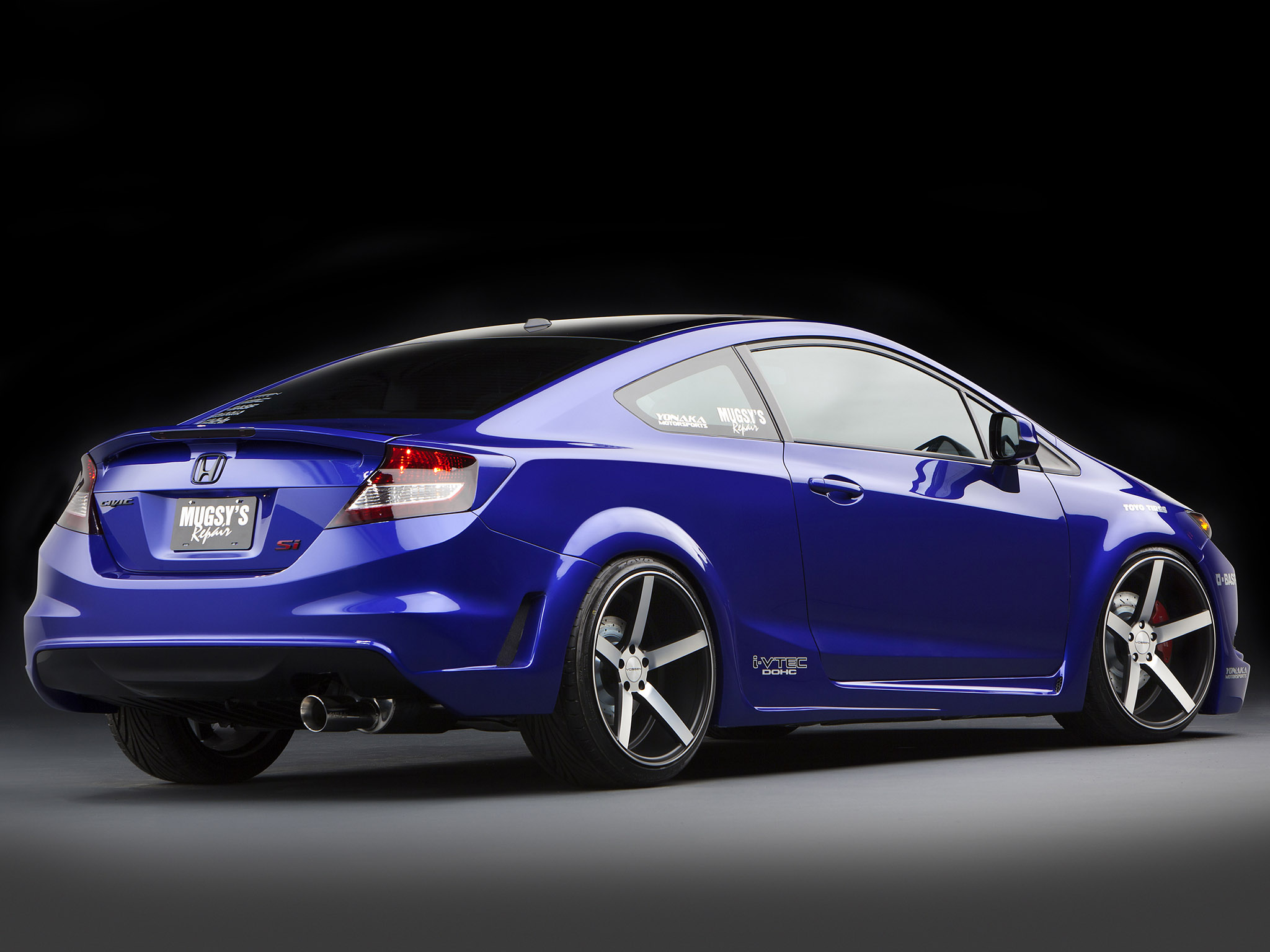2011 Honda Civic Si Coupe Tuning F Wallpaper 2048x1536