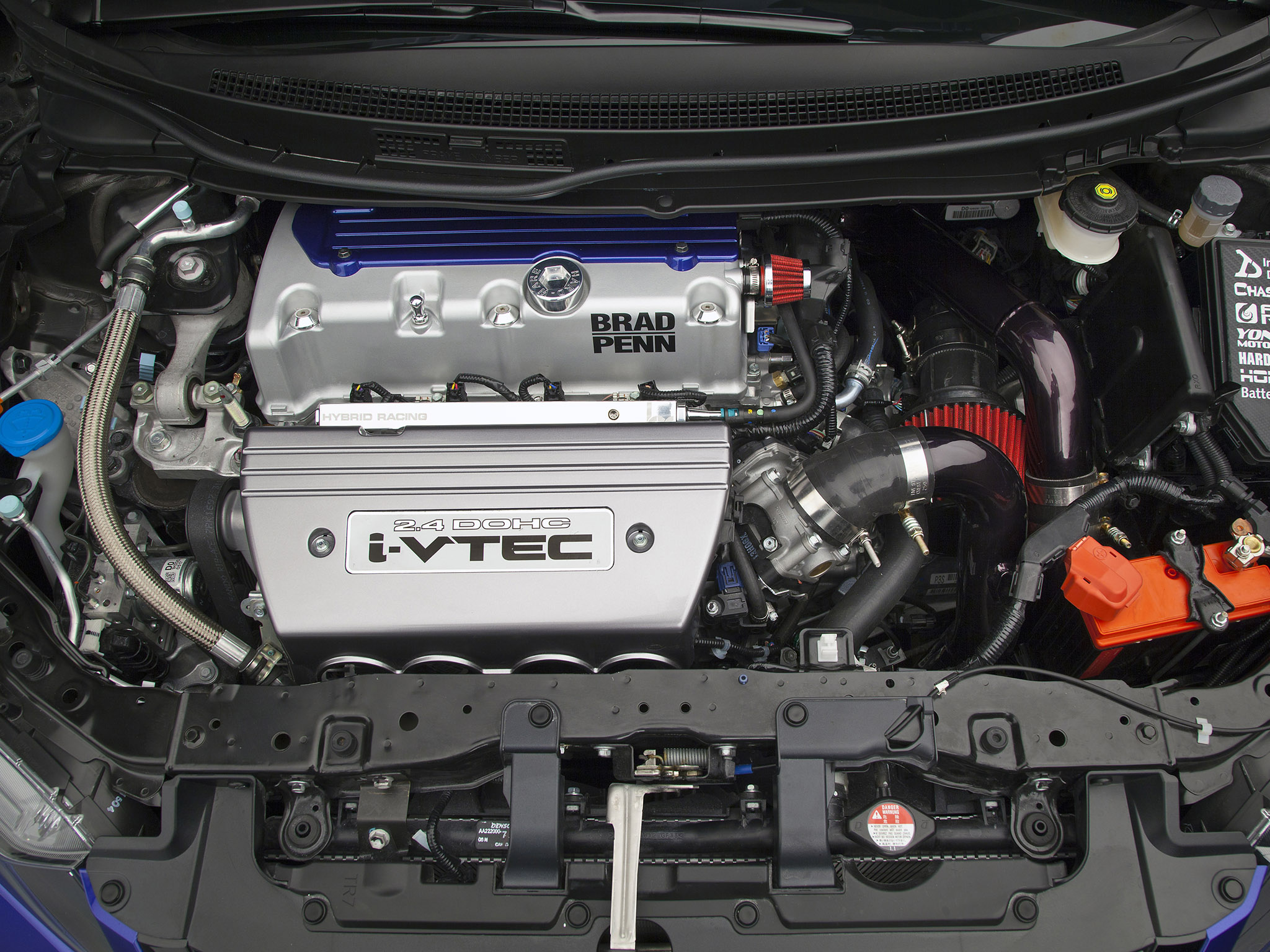 2011 Honda Civic Si Coupe Tuning Engine Engines Wallpaper