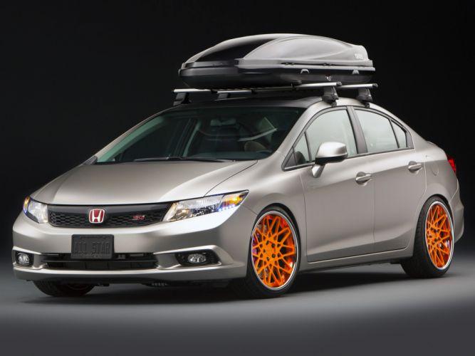 2011 Honda Civic Si Sedan TJIN tuning wallpaper