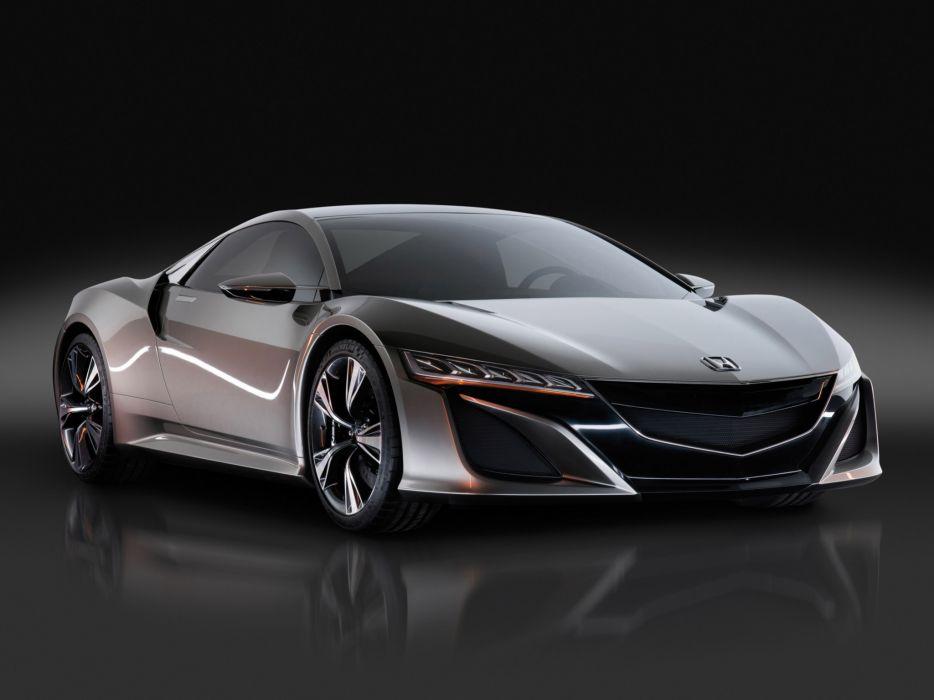 2012 Honda NSX Concept supercar supercars wallpaper