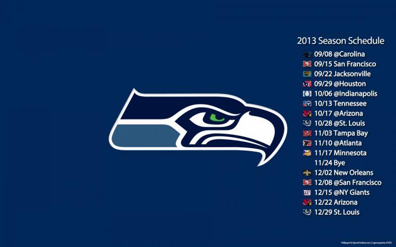 2013 Seattle Seahawks nfl football poster posters logo wallpaper
